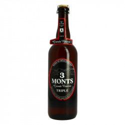 3 MONTS Triple Flanders Beer Grande Réserve
