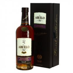 ABUELO NAPOLEON 15 Years Panama Rum  Cognac Barrel Finish