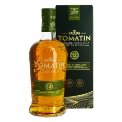 TOMATIN 12 years old Highland Single Malt Scotch Whiskey