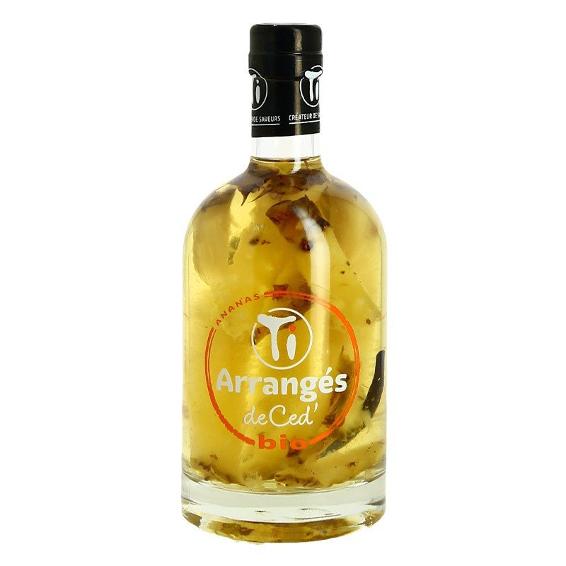 Organic Pineapple Rum PUNCH CED 70 cl