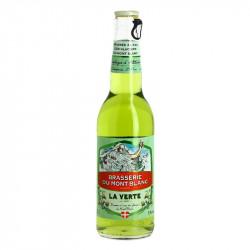 La Verte Génépi flavored Beer Brasserie du Mont Blanc 33 cl