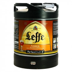 PERFECT DRAFT  6L LEFFE Amber Beer Keg