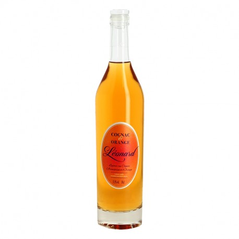 Cognac and Orange Liquor by Cognac Léonard