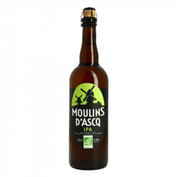 MOULINS D'ASCQ Organic Blond IPA Beer 75 cl