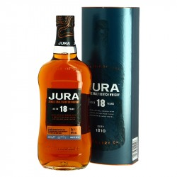 JURA 18 years Whiskey Bourbon and  Grand Cru Classé Cask Finish