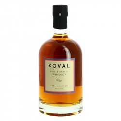 KOVAL American Single Barrel RYE Whiskey Organic