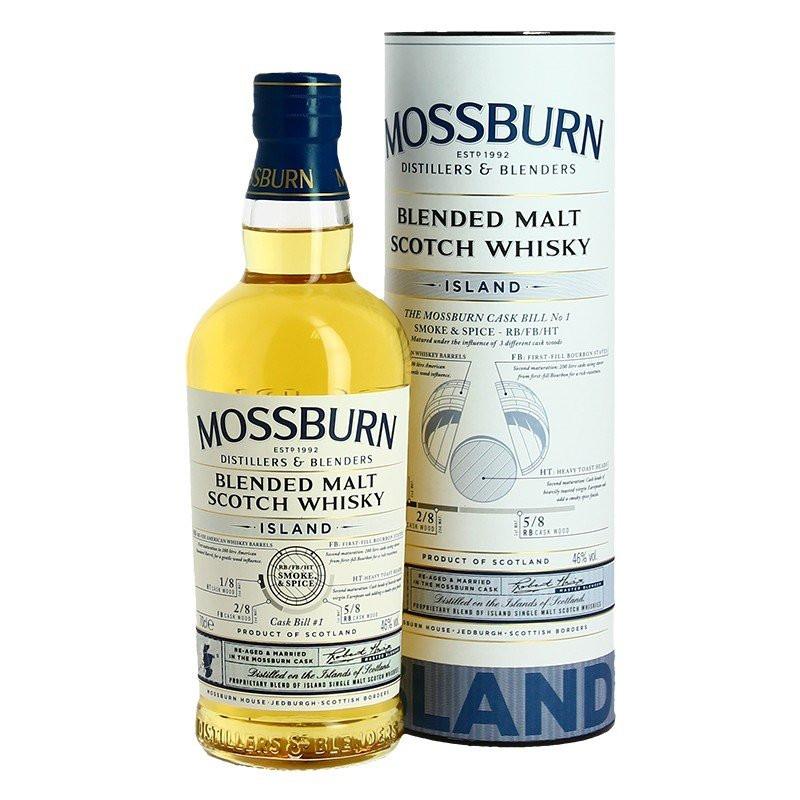 MOSSBURN ISLAND Blended Malt Scotch Whiskey