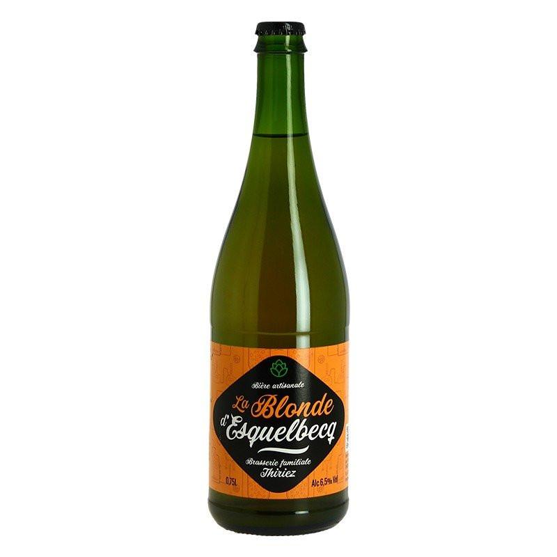 La Blonde d'Esquelbecq Beer from Brasserie Thiriez 75cl