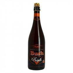 BUSH TRIPLE Belgian Amber Beer 75 cl