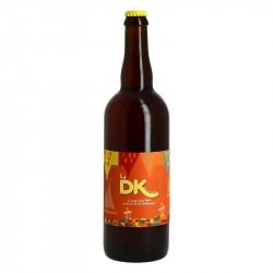 La DK Tripel Craft Beer from French Flanders 75 cl