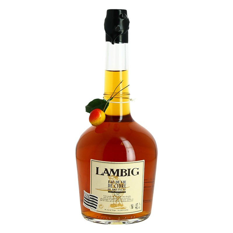 Cider Brandy Lambig from Brittany by Jacques Fisselier