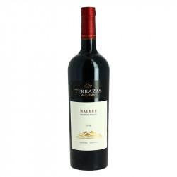 TERRAZAS de los Andes MALBEC Argentina Red Wine