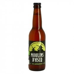 MOULINS D'ASCQ Organic Blond IPA Beer 33 cl
