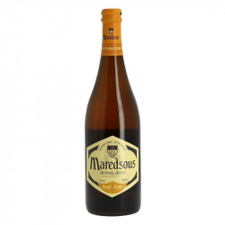 Belgian Abbey Blonde beer MAREDSOUS of the Benedictine tradition 75 cl