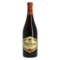 MAREDSOUS Belgian Abbey beer of Benedictine tradition 75 cl