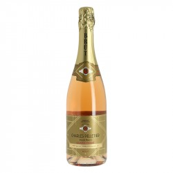 Charles Pelletier Rosé Sparkling Wine Traditional Method