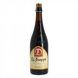 La Trappe Dubbel Trappist Beer Brown of Holland 75 cl