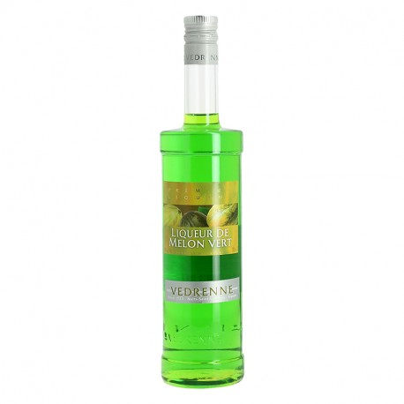 Green Melon Liqueur by Vedrenne