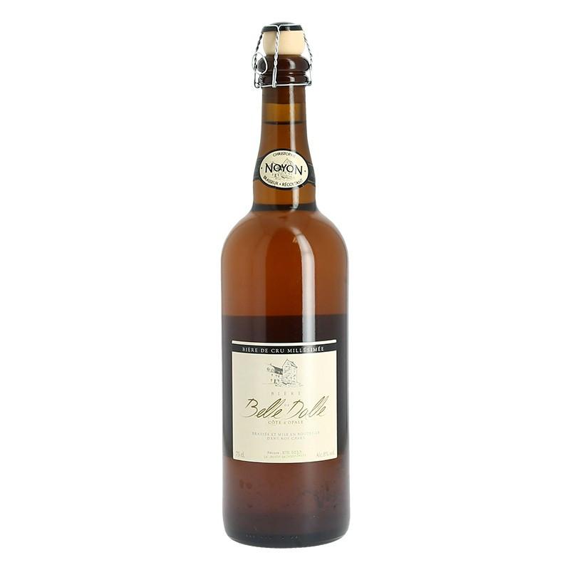 """La Belle Dalle Bière sur Lie """"Single Malt"""" Beer  from the Cote d'Opale 75 cl"""