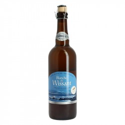 Regional Beer BLANCHE from WISSANT by Brasserie Noyon 75 cl
