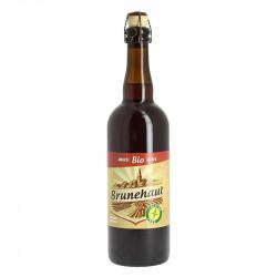 Brunehaut Amber Organic belgian beer Gluten Free 75 cl
