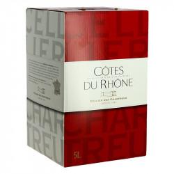 BIB COTES DU RHONE ROUGE CHARTREUX 5 L
