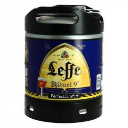 PERFECT DRAFT 6 L Keg  of LEFFE BLEU Belgian Abbey Beer