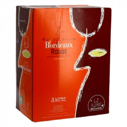 Bag in box wine  Bordeaux Mottes Coucou 5L