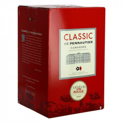 Bag in Box Wine Le Classic de Pennautier Red Languedoc Wine  5 Litres