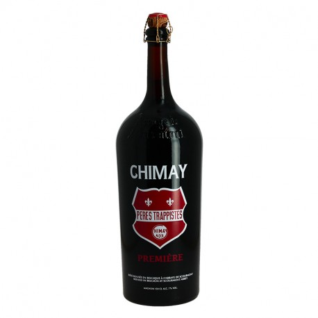 CHIMAY Cuvée Première red label in Magnum Trappist Belgian Beer