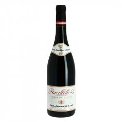 Côtes du Rhone Red Wine Cuvée Parallele 45 by Jaboulet