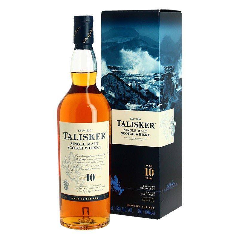 TALISKER 10 YO Highlands Skye Single Malt Whiskey