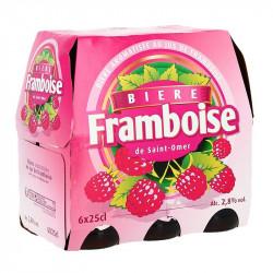 ST OMER FRAMBOISE 6X25CL