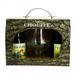 COFFRET CHOUFFE 4X33 CL + 1 VERRE