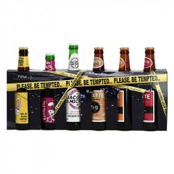 Box of HUMORIST BEER Please be Tempted 6 x 33 cl