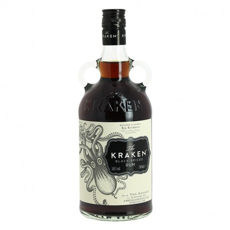The KRAKEN Black Spiced Rum Carribean Rum