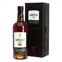Rum ABUELO 15 years old Ron finishing barrel of Sherry OLOROSO