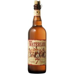 WATERLOO Belgian Triple Blonde beer 75 cl