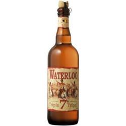 WATERLOO Belgian Triple Blonde beer 75 cl