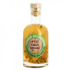 P'tit Calva Arrangé Passion Fruit Pineapple 20 cl Calvados Liqueur
