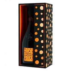 Champagne Veuve Clicquot La Grande Dame 2012 Luxury Box by YAYOI KUSAMA