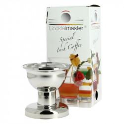 Appareil à Irish Coffee et Cocktails , Cocktailmaster Métalllisé