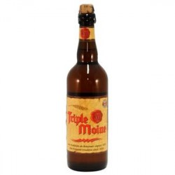 Triple Moine Belgian Blonde Beer 75 cl