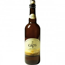 Beer des 2 caps 75 cl Blonde Beer