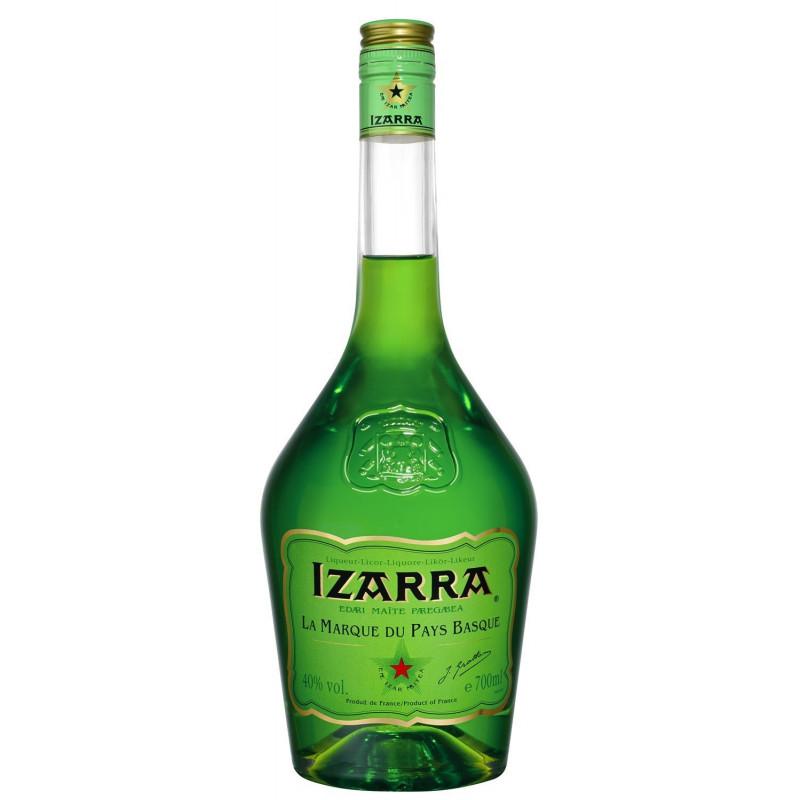 Izarra Green French Pays Basque Liqueur