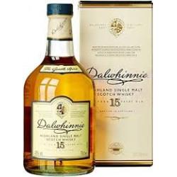DALWHINNIE 15 Years Old Highlands Single Malt Scotch Whiskey