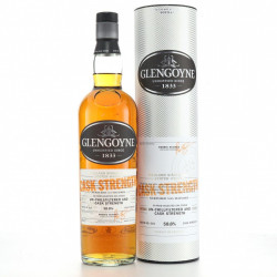 GLENGOYNE Cask Strength Highlands Single Malt Scotch Whiskey
