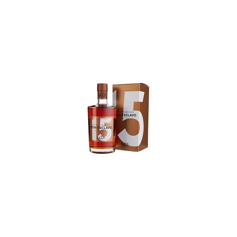 Esclavo Ron 15 YEARS OLD Dominican rum solera
