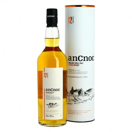 Ancnoc 12 years 70 cl