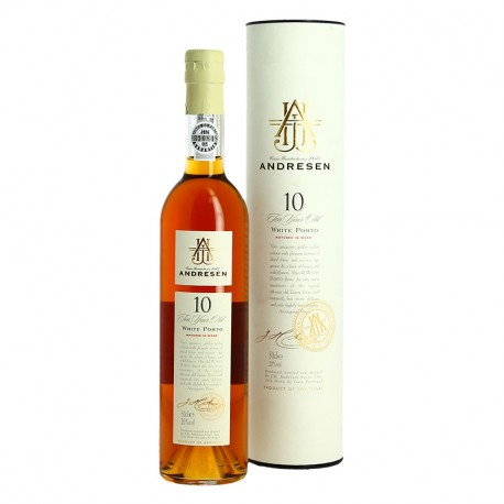 Andresen 10 Years Old White Port